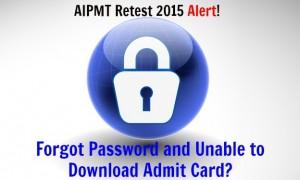 aipmt retest 2015 admit card
