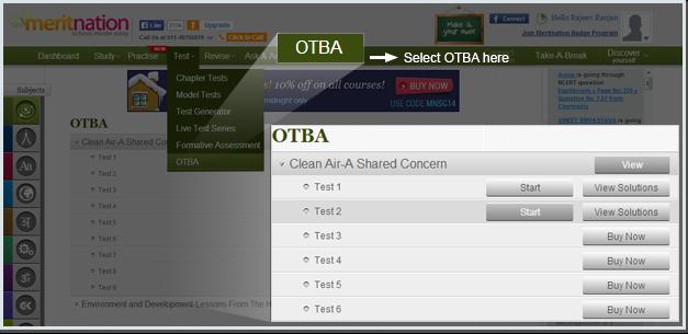 Select OTBA here