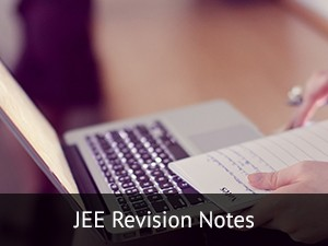 JEE 2016 Revision Notes