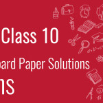 CBSE Board Paper class 10 Maths