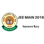 JEE Main Key