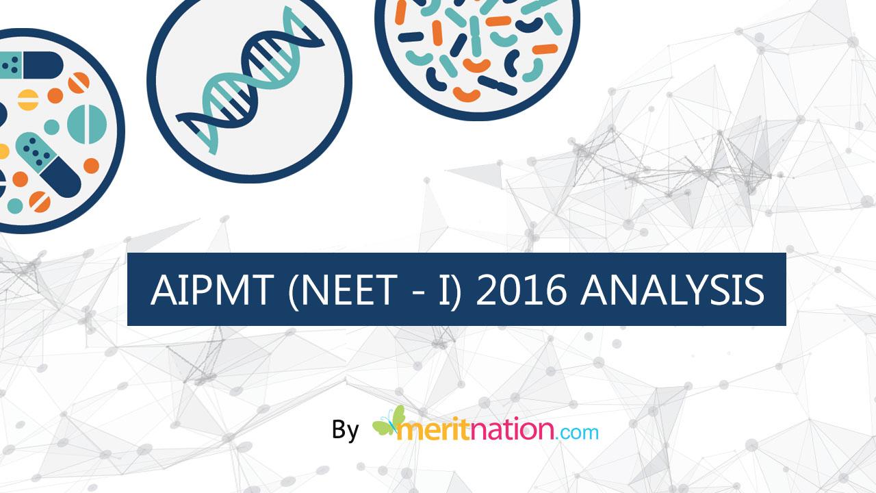Analysis AIPMT NEET1