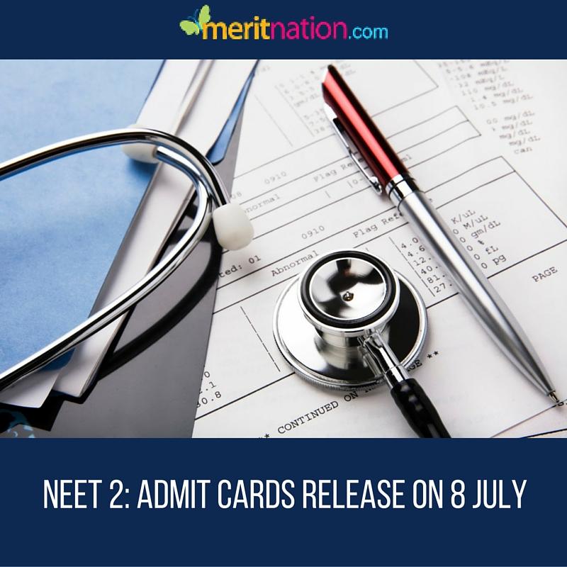 NEET 2 Admit Card Notice