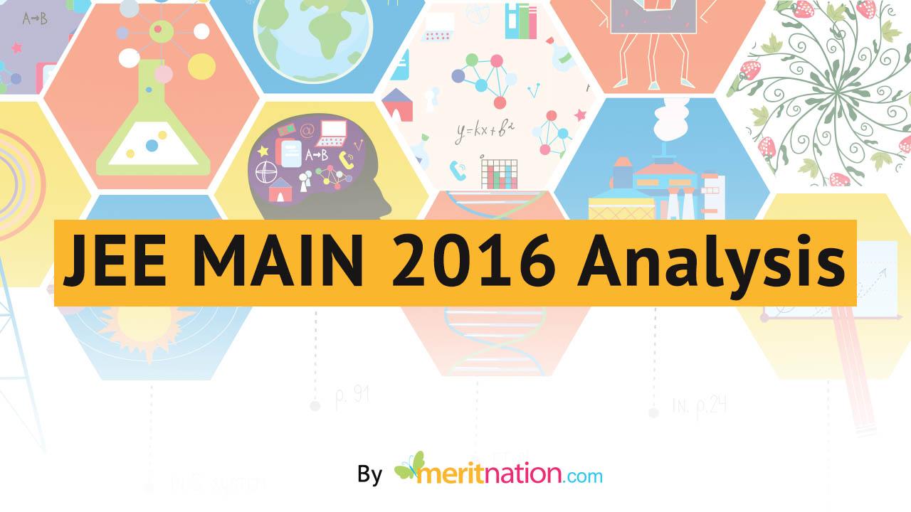 1280x720 JEE MAIN Analysis