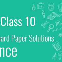 CBSE Board Paper class 10 Science