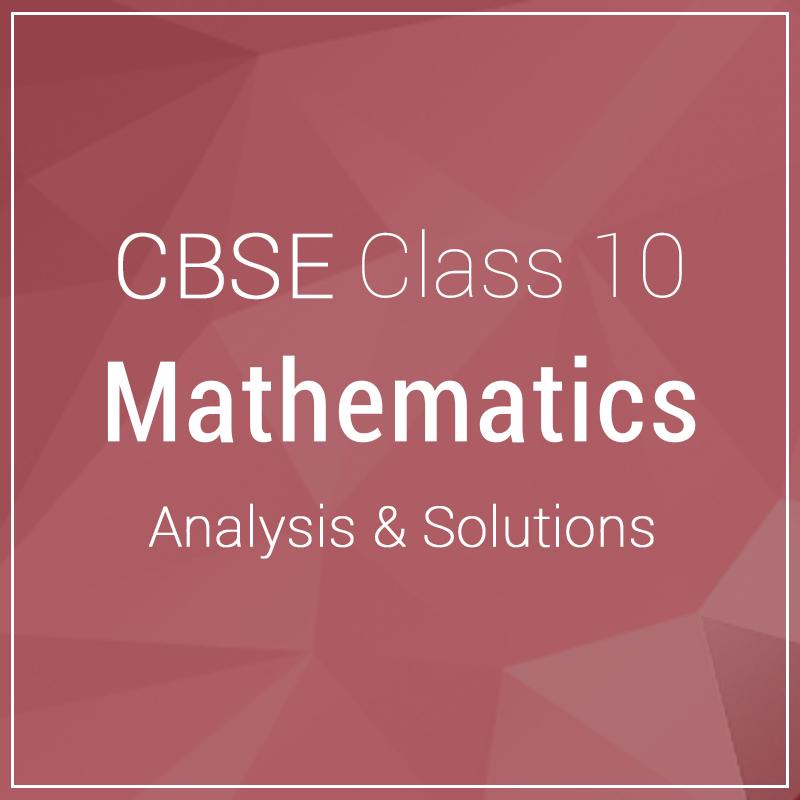 Class 10-Mathemetics