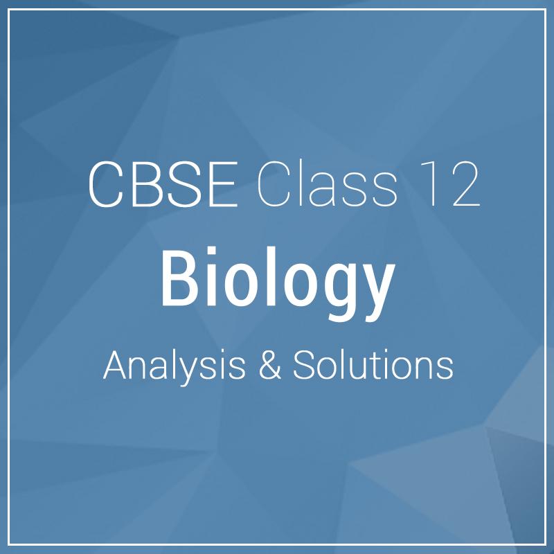 Class 12-Biology