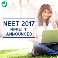 NEET result announced 2017