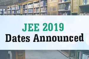 jee 2019 dates