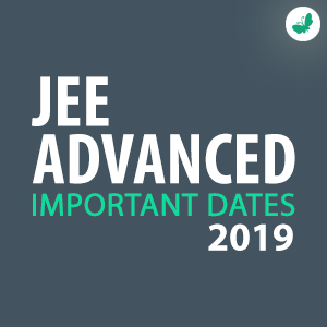 jee advanced 2019 - dates