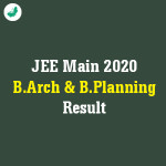 JEE Main 2020 B Arch & B Planning result