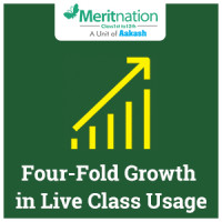 Four-Fold Growth in Live Class Usage